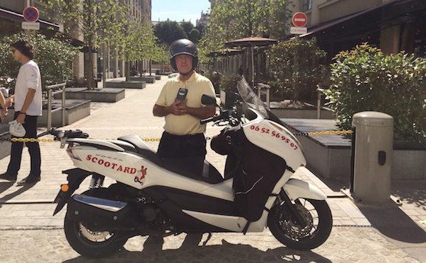 Témoignage client de scootard moto-taxi qui a utilise son terminal de paiement mobile smileandpay