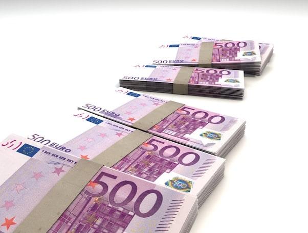 Liasse de billets de 500€