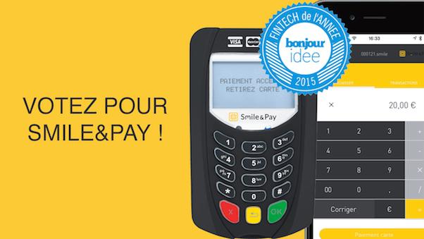 Votez pour Smile&Pay fintech 2015