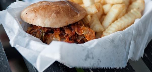 photo burger boursin