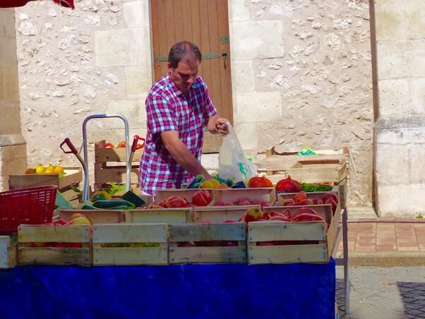 maraicher vente de légumes