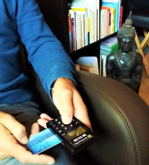 hypnothérapeute paiement par carte bleue