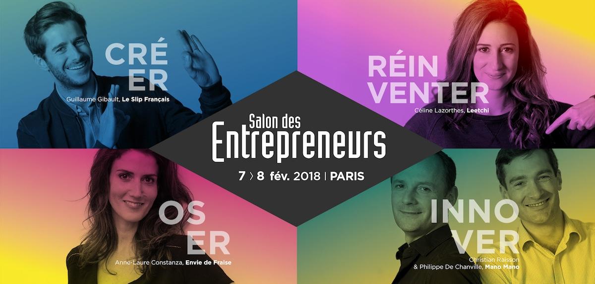 salon des entrepreneurs Paris 2018