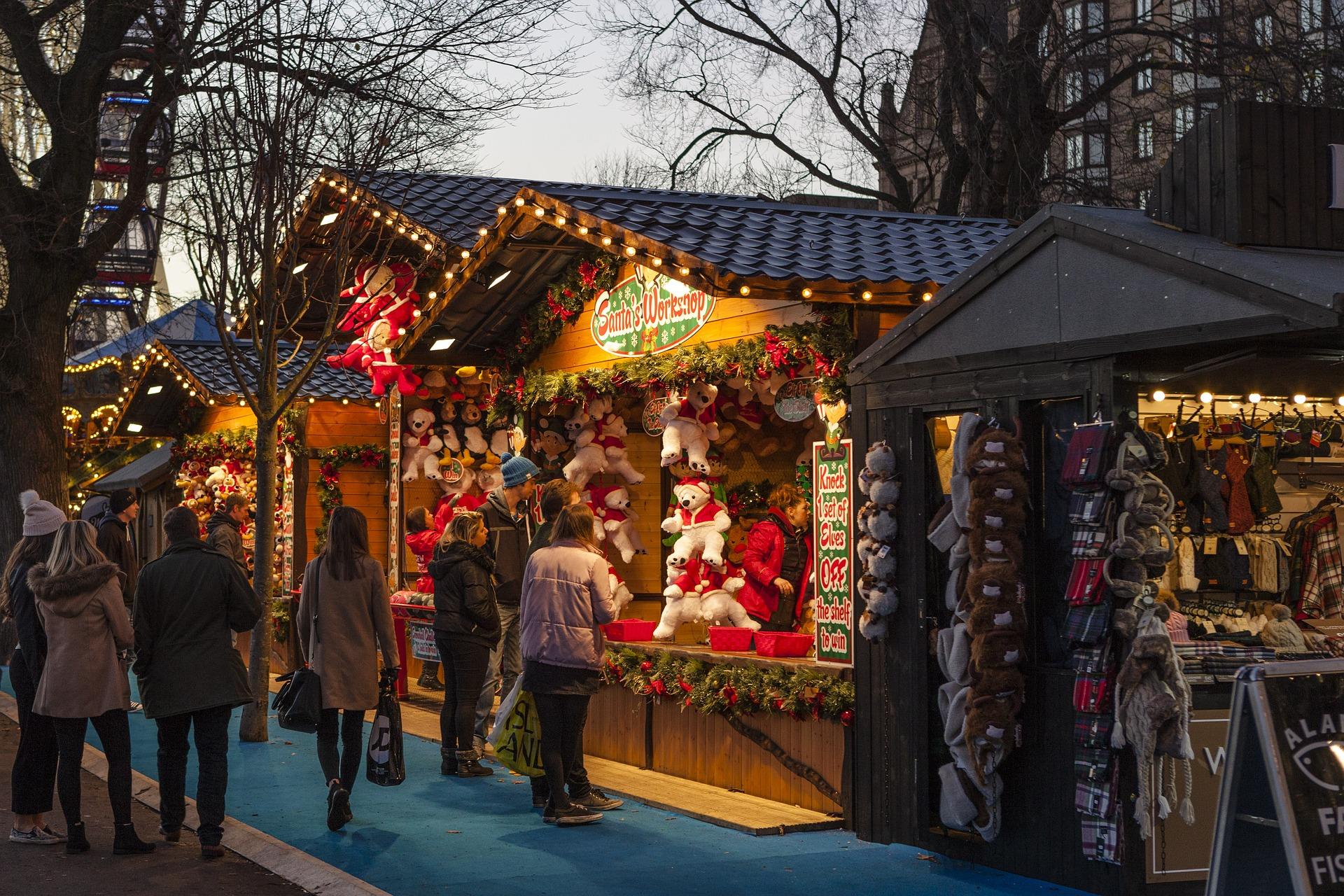 Préparer les marchés de Noël