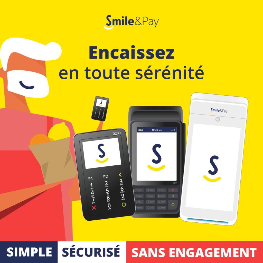 terminal de paiement smile and pay